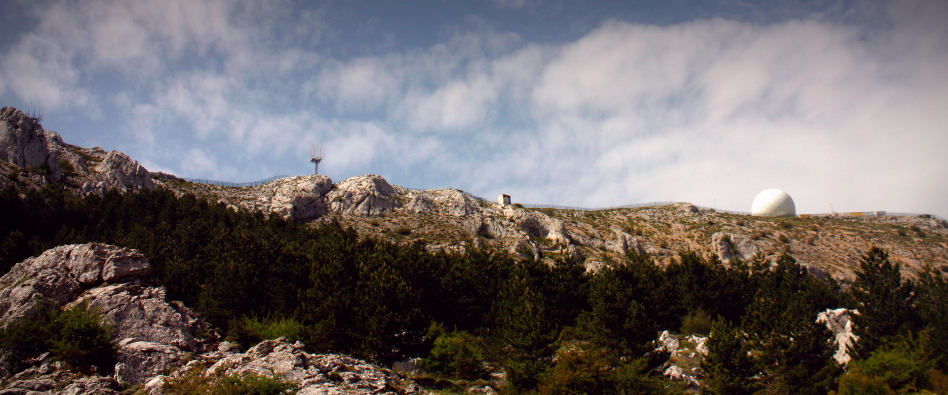 Summit of the Sierra de Aitana