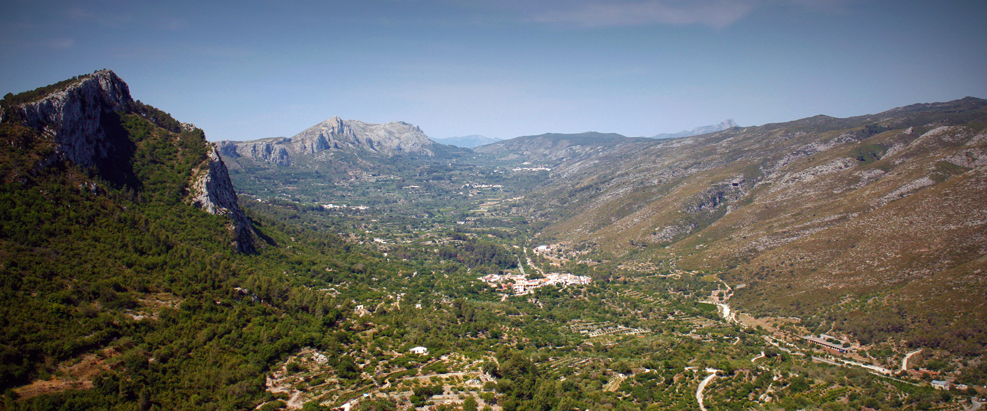 The Valley of Gallinera