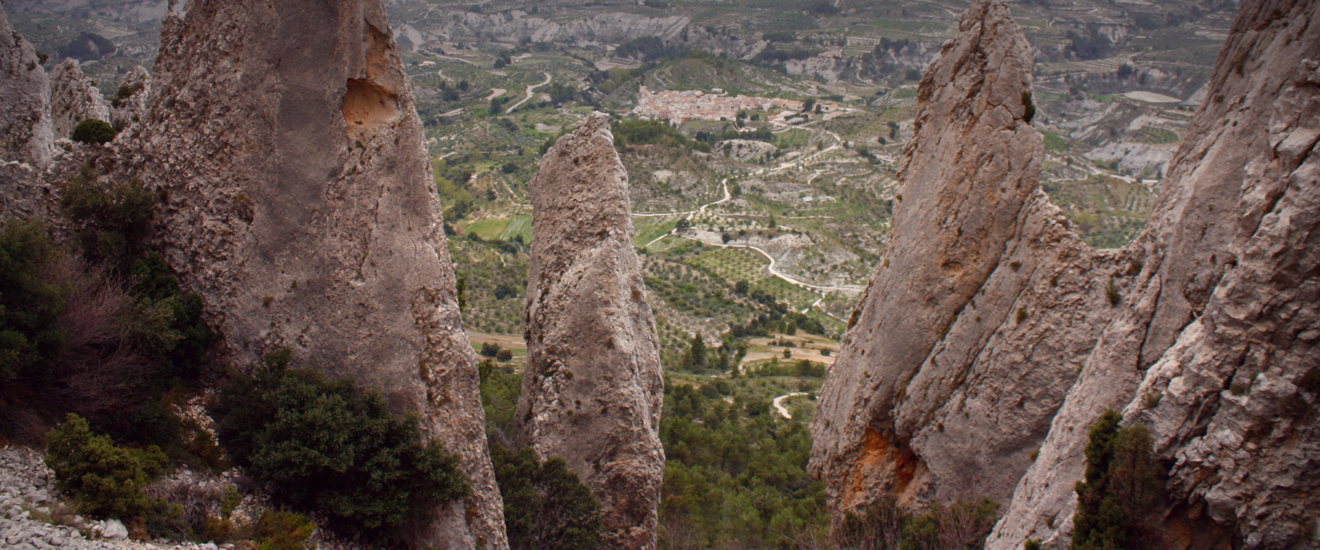 The Frares of Quatretondeta. Serrella mountain